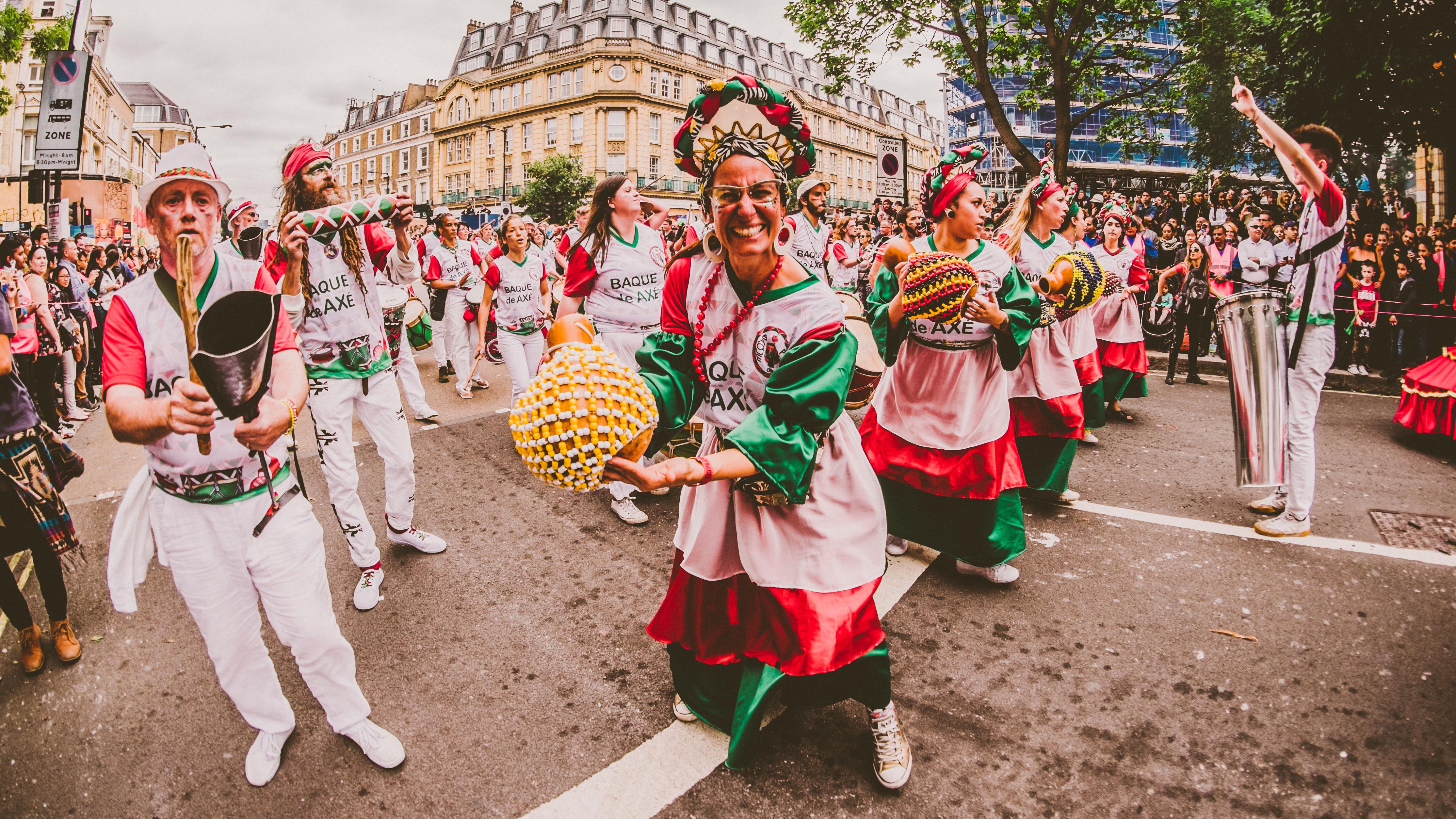 Baque de Axe — Notting Hill Carnival