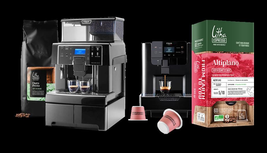 Café + machine et son entretien