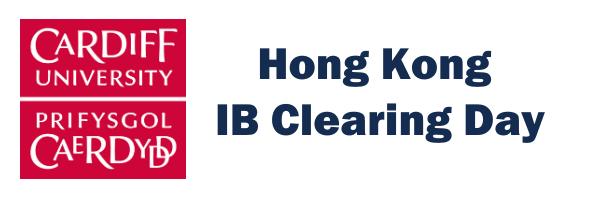 Cardiff University: Hong Kong IB Clearing Day