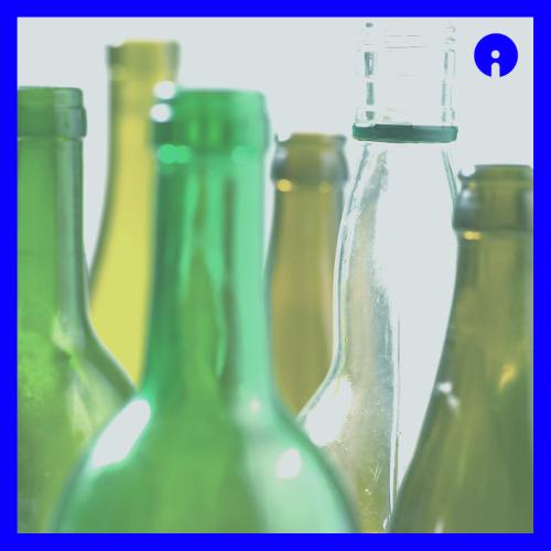 Glas-Flaschen