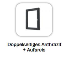 Doppelseitiges Anthrazit - 893 €