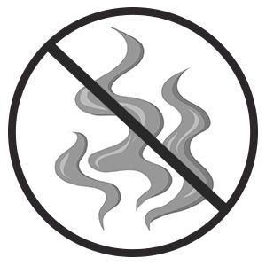 Rauch ist ein No Go