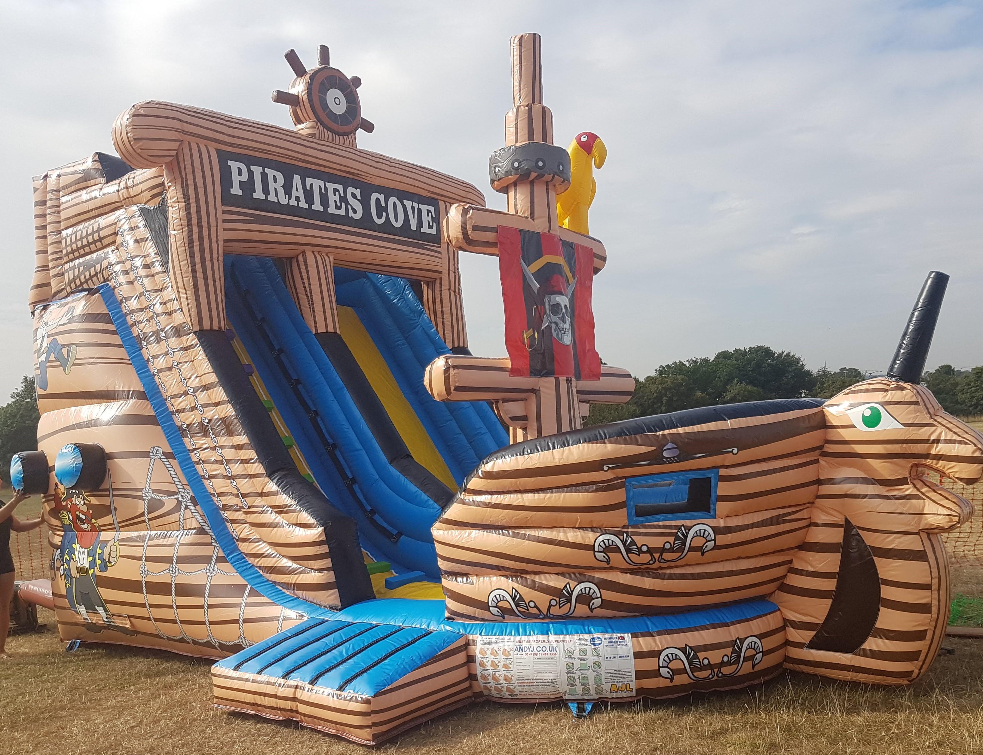 pirate ship slide £250