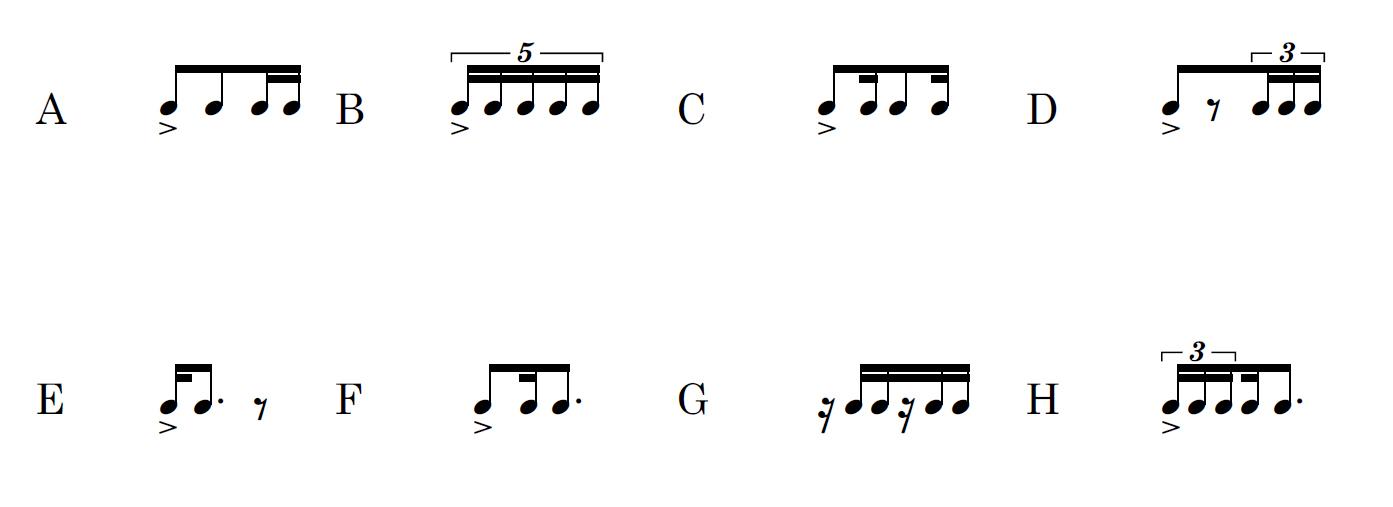 Percezione ritmica