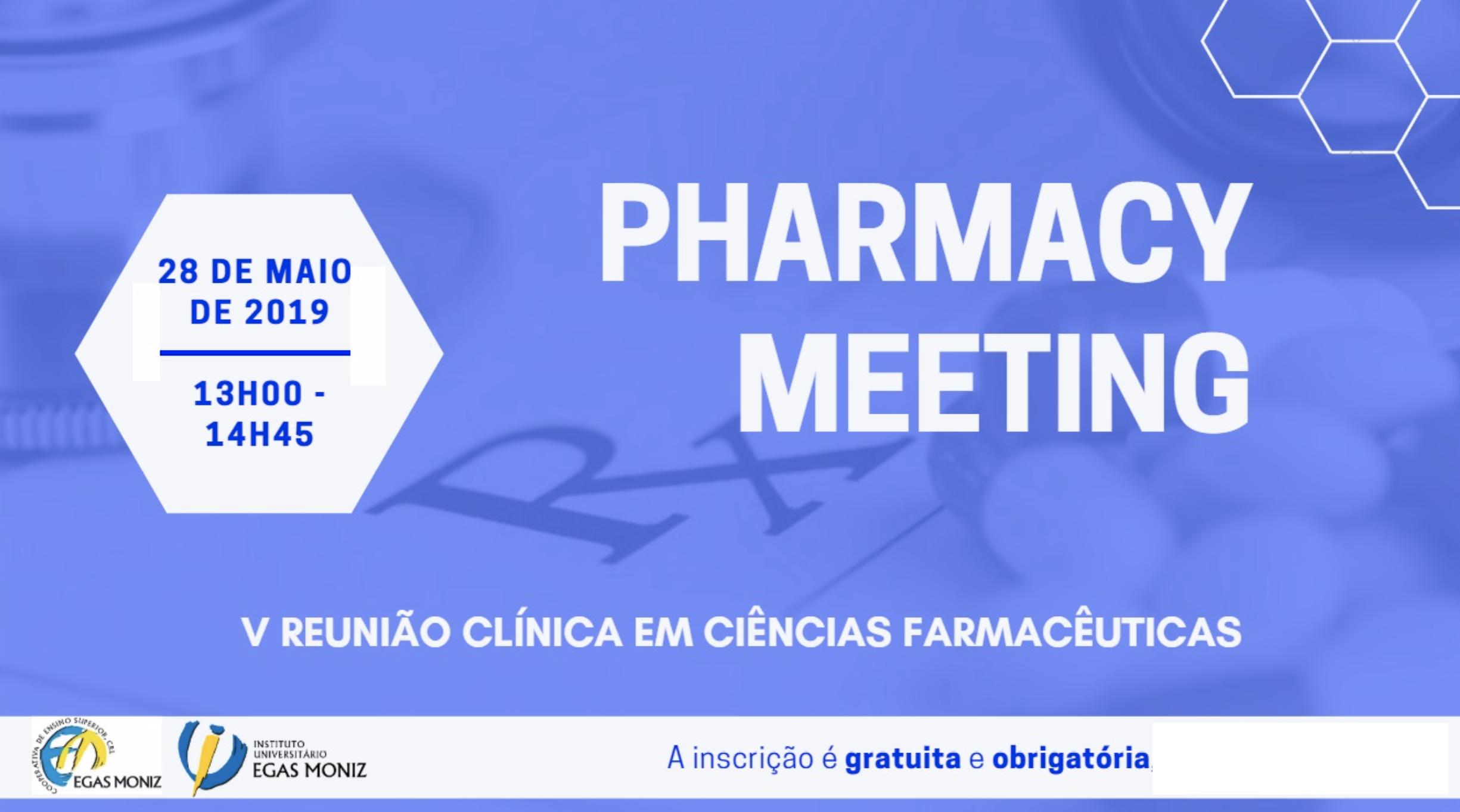 Reuniões Clínicas em Ciências Farmacêuticas 2019