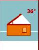 36° - 45