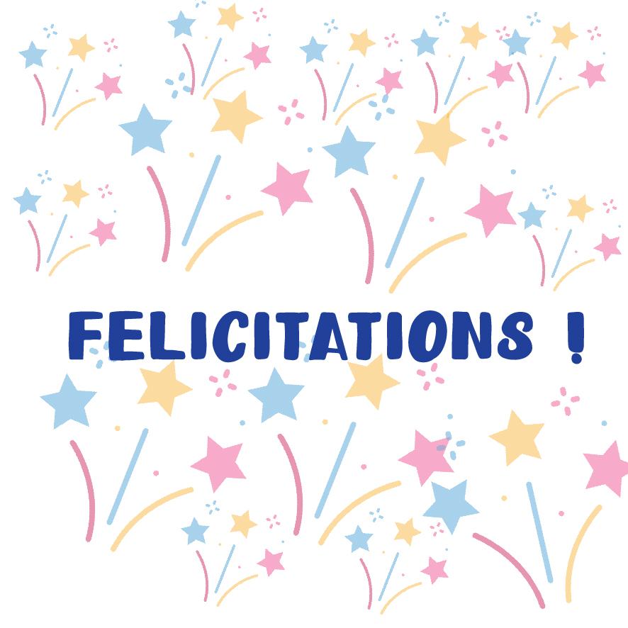 2. Félicitations