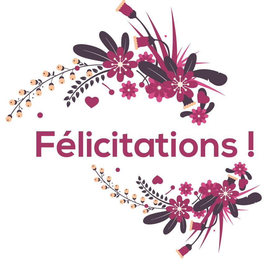 1. Félicitations