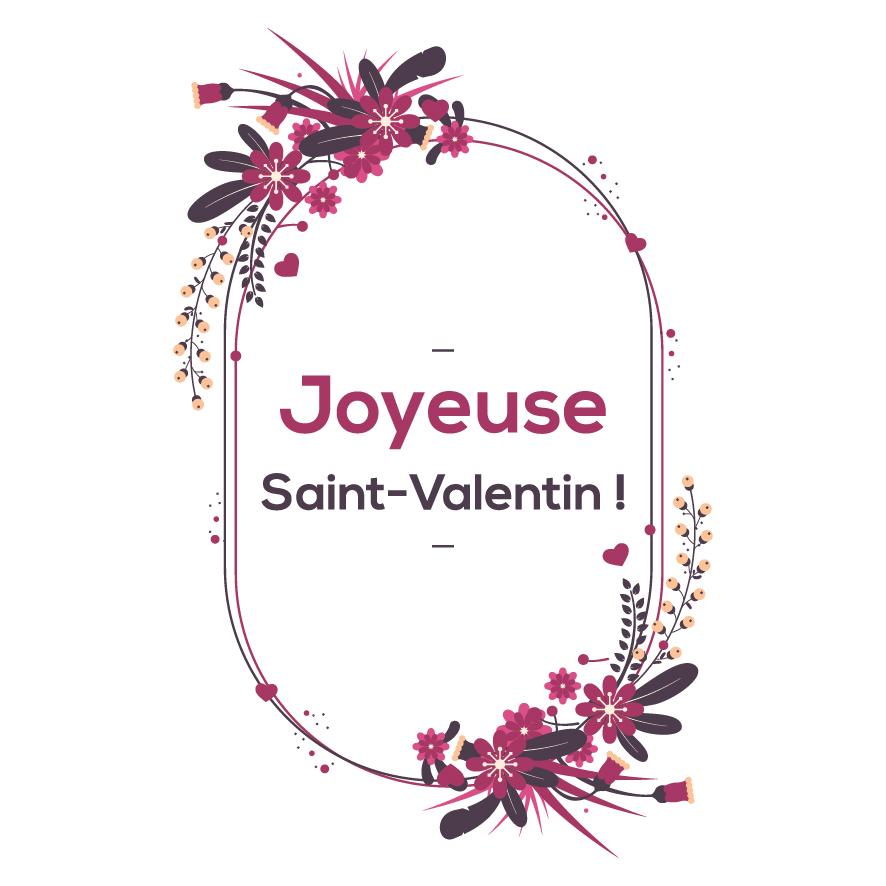 9. Joyeuse saint-valentin