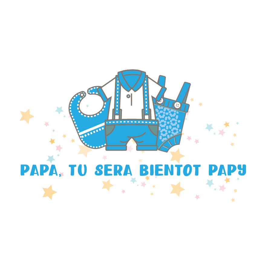 6. Papa tu va être papy