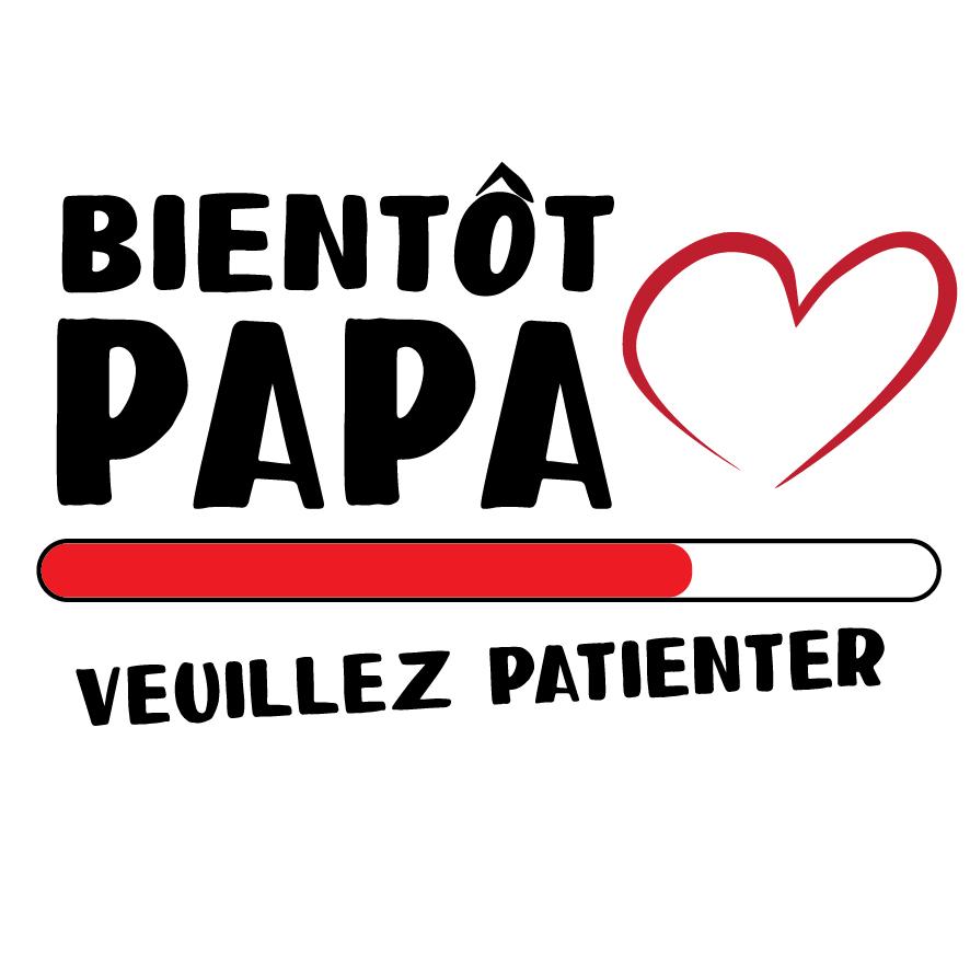 2. Bientôt papa veuillez patienter !