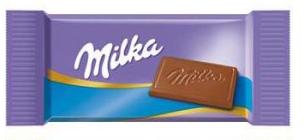 Carré de chocolatMilka ALPIN-[1.29€]