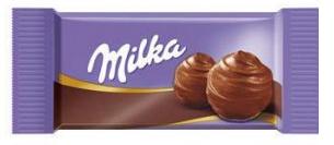 Carré de chocolatMilka CREME DE CACAO-[1.29€]