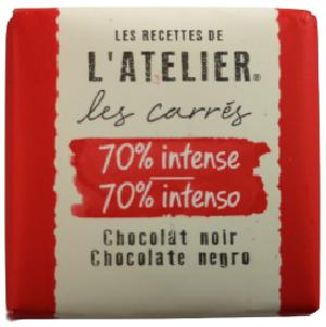 Carré de chocolatNeslté ATELIER 70% INTENSE-[1.29€]