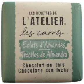 Carré de chocolatNeslté ATELIER ECLATS D'AMANDES-[1.29€]