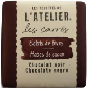 Carré de chocolatNeslté ATELIER ECLATS DE FEVES-[1.29€]