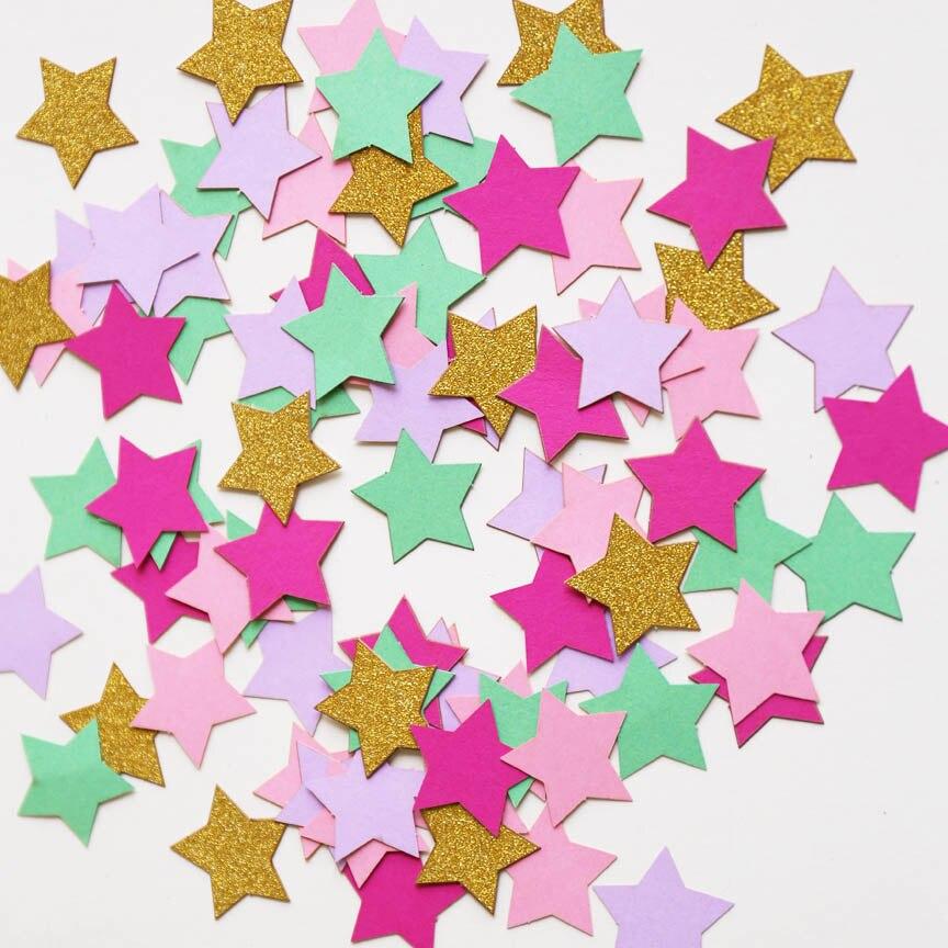 2. confettis étoiles & neige artificiel (1.69€)