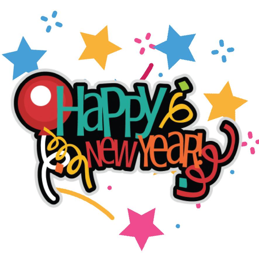 4. Happy new year