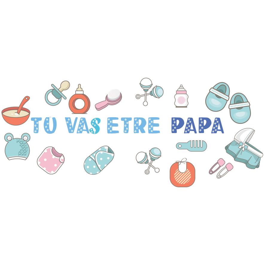 7. Tu vas être papa