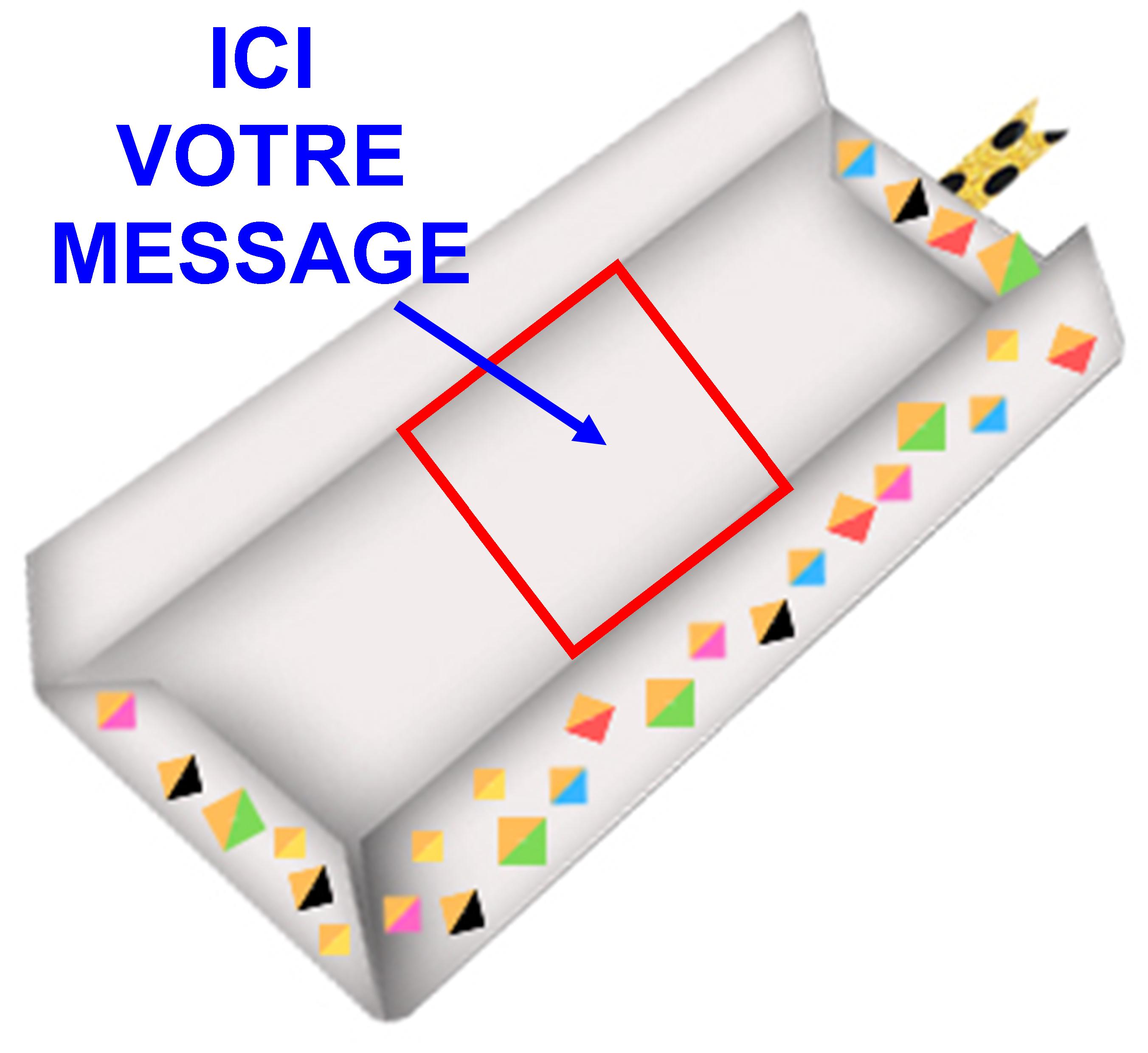 Message dans l'enveloppe (1.19€)