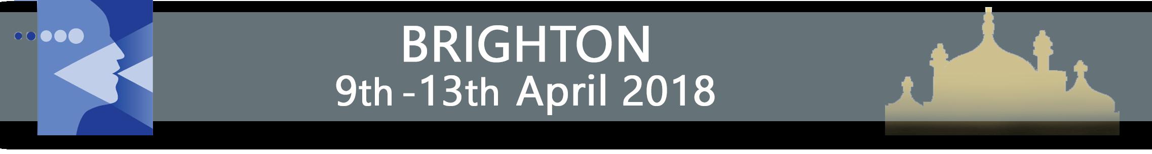 BRIGHTON 3rd - 7th April 2017