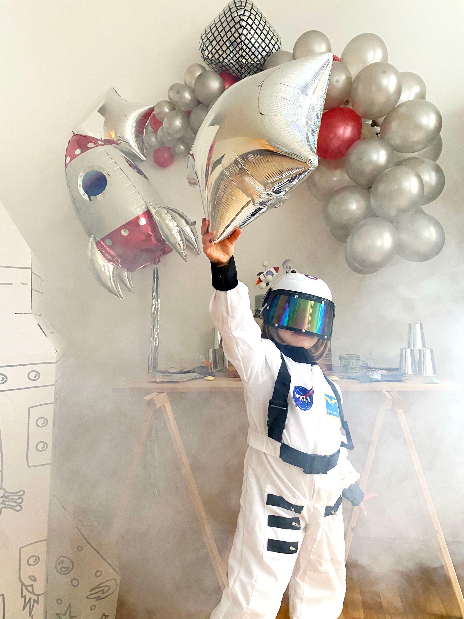 An Astronaut's Intergalactic Celebration