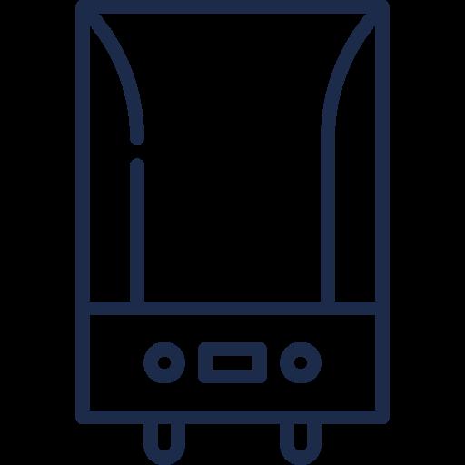 Electric central boiler