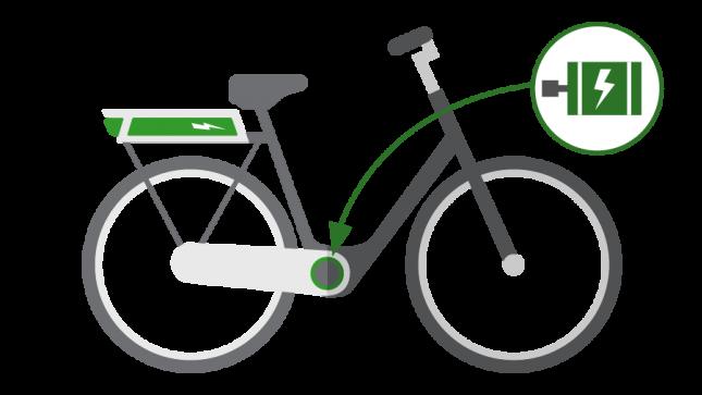 Dame EL-cykel