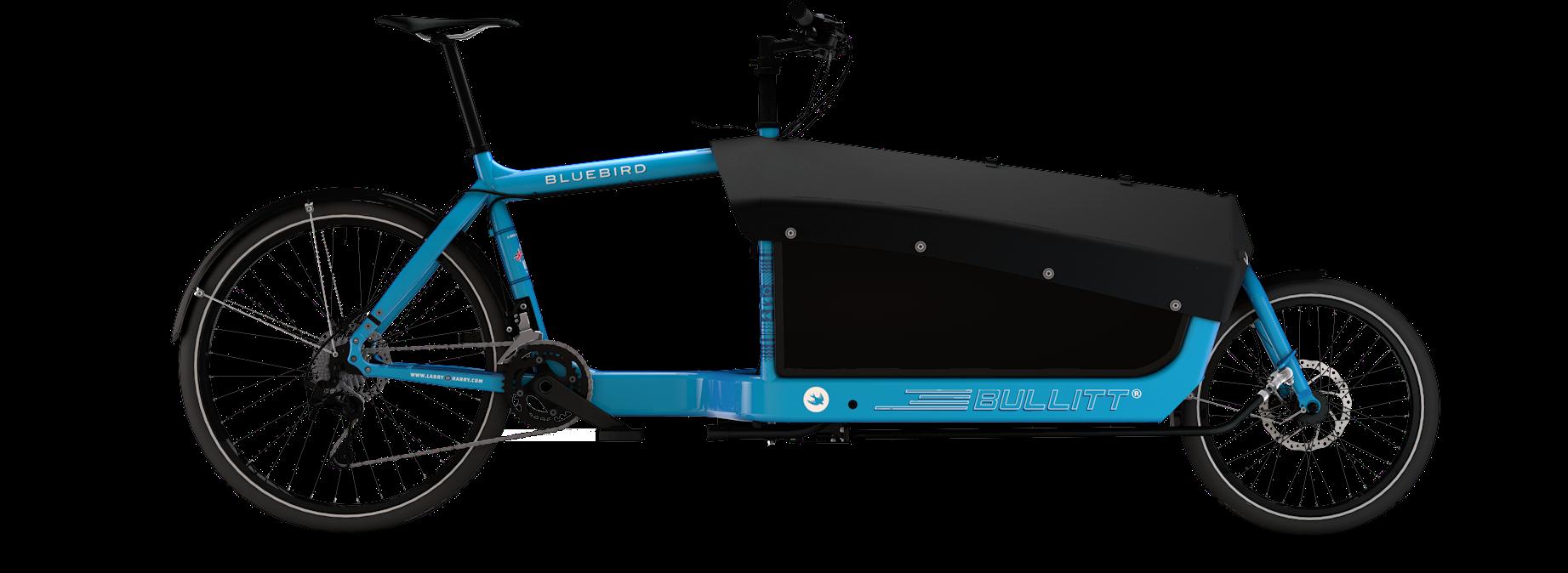 Ladcykel 2 hjul