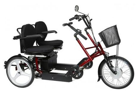 Senior cykel (EL)