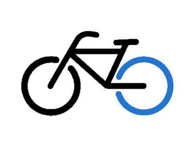 Slangen på cyklens baghjul (kr.230)