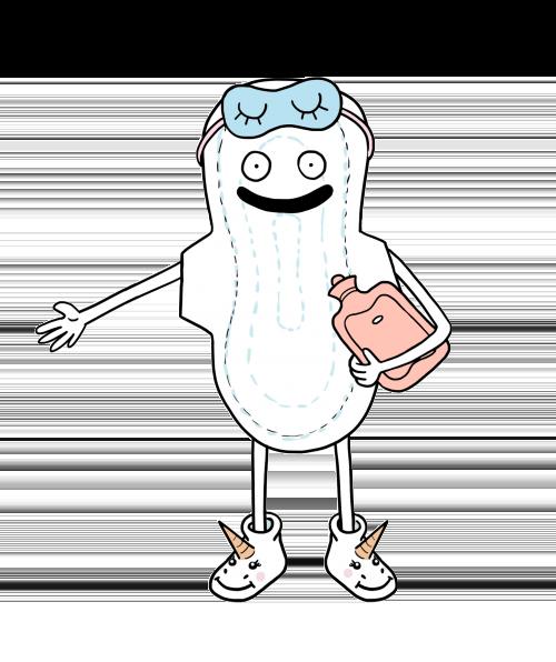 Les serviettes hygiéniques
