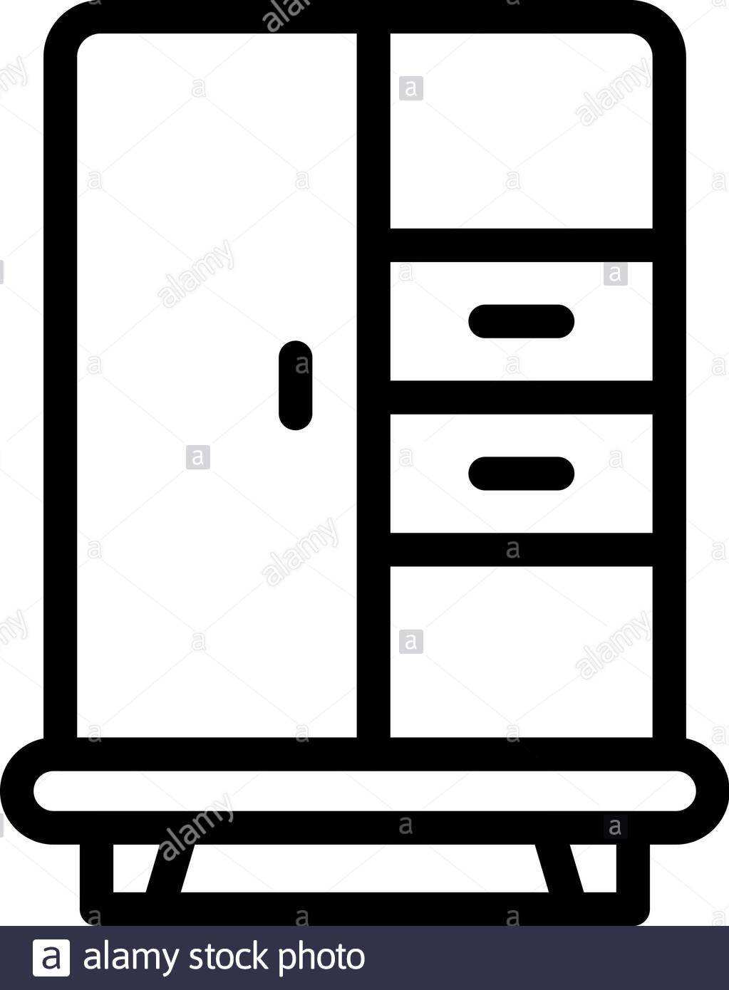 1 Sliding door wardrobe