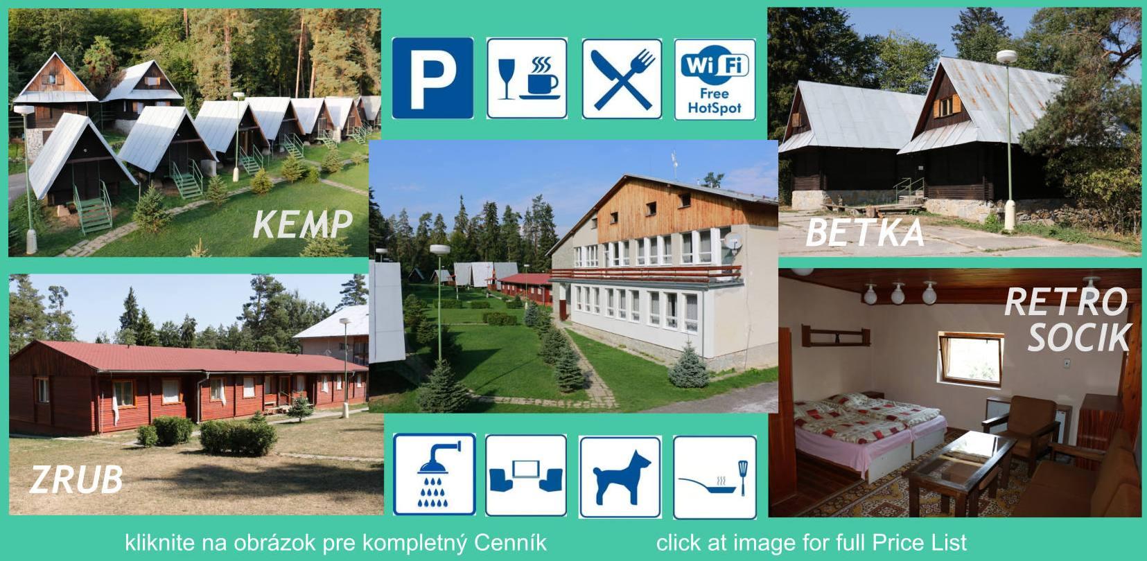 Rekreačné stredisko Slovenský raj - Turistický raj - Podlesok - Hrabušice