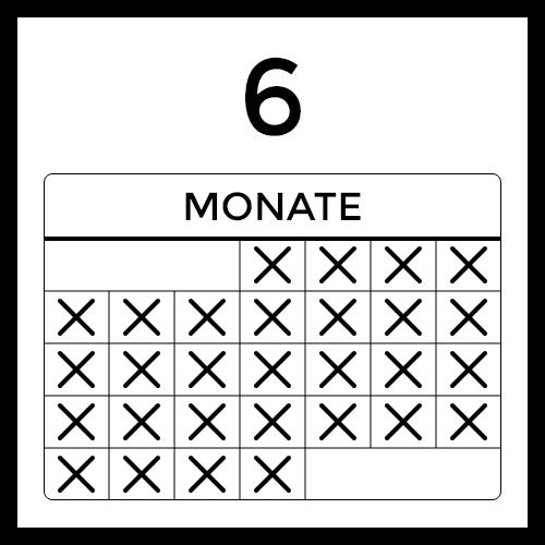 Mehr als 6 Monate