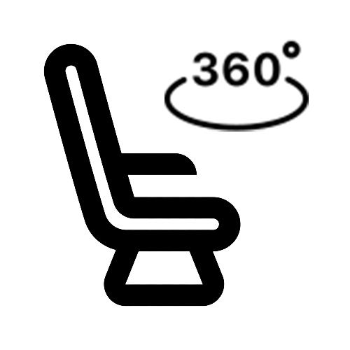 Drehbare Sitze