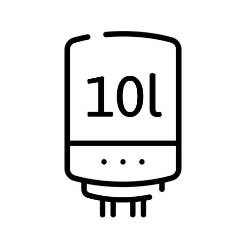 Warmwassboiler 10l