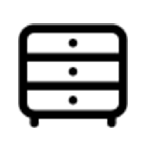 HPL beschichtete Möbel