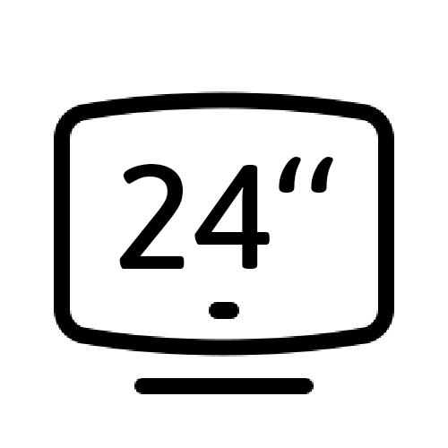 """Smart LED TV 24"""""""