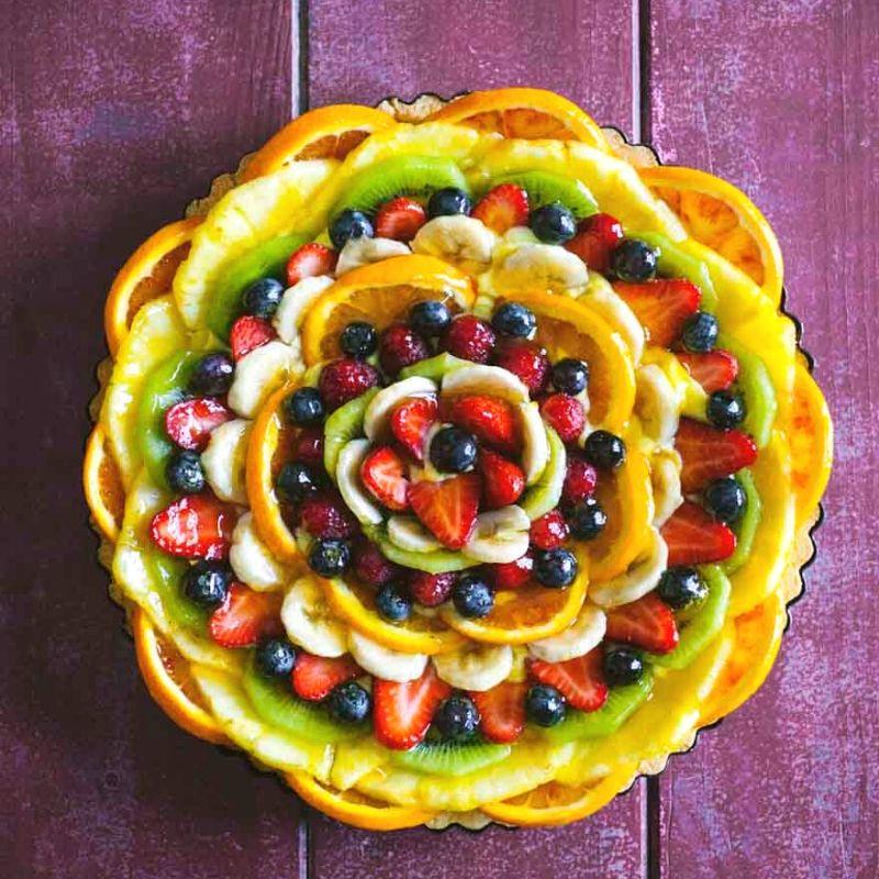 Crema pasticcera & frutta mista