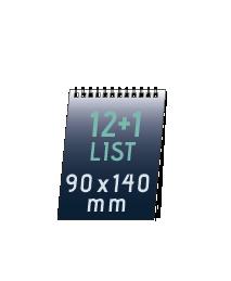 mini kalendář (90x140 mm)    76 Kč/ ks + DPH