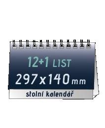 stolní kalendář (297x138 mm)   196 Kč/ ks + DPH