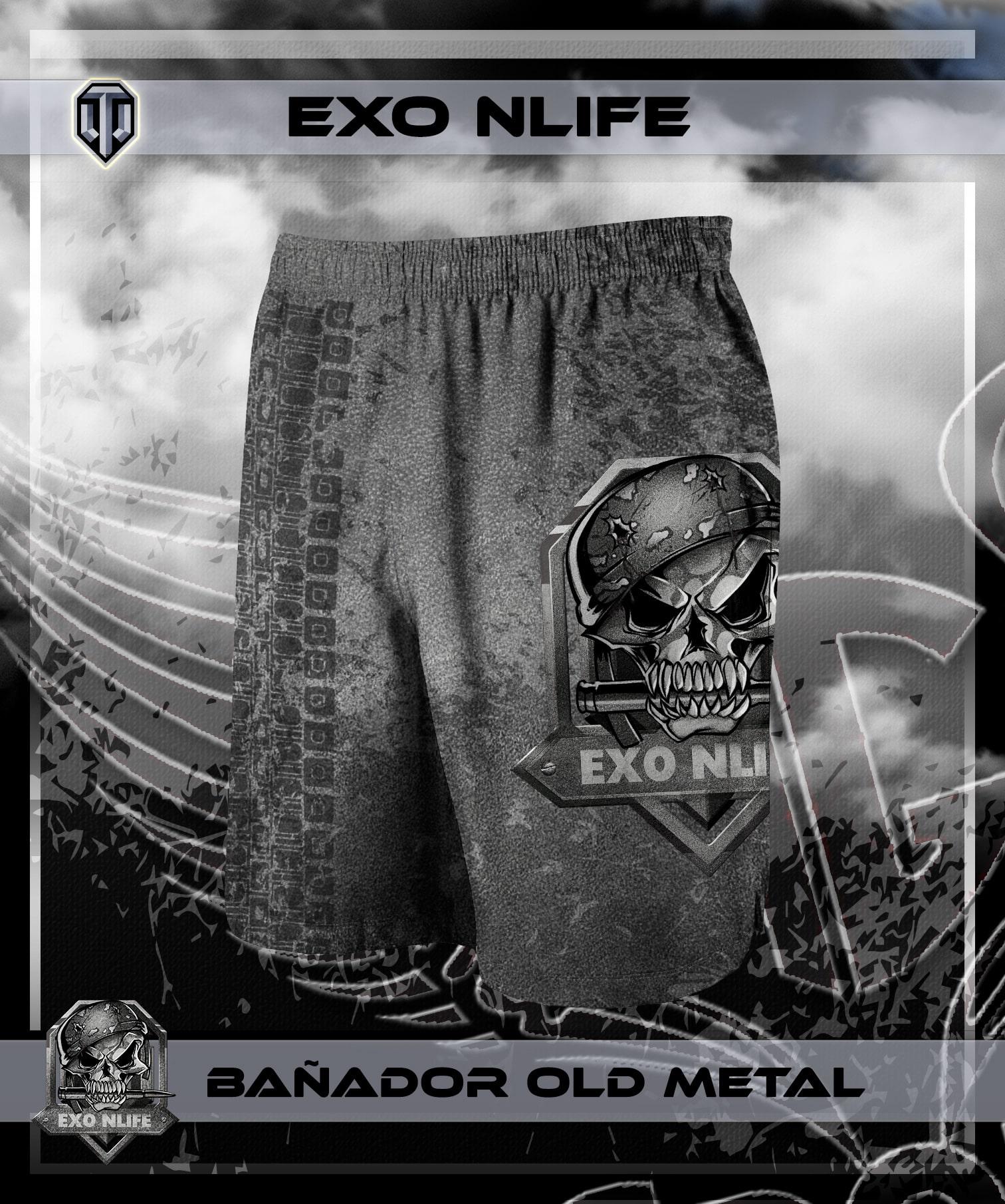 Bañador Old Metal
