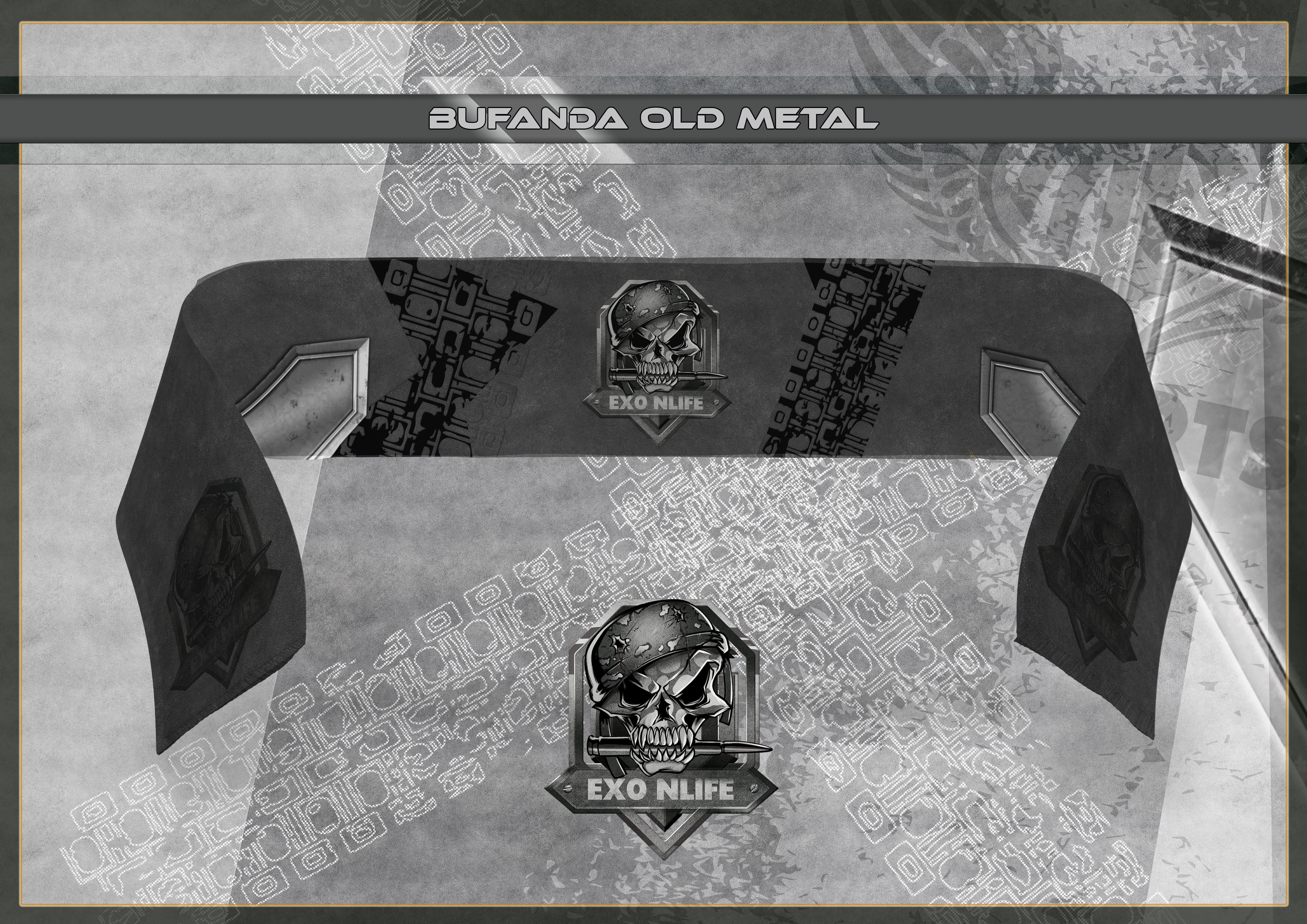 Bufanda Old Metal