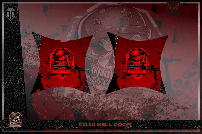 Cojín Hell Door