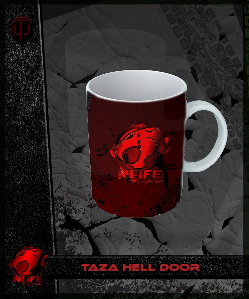 Taza Hell Door
