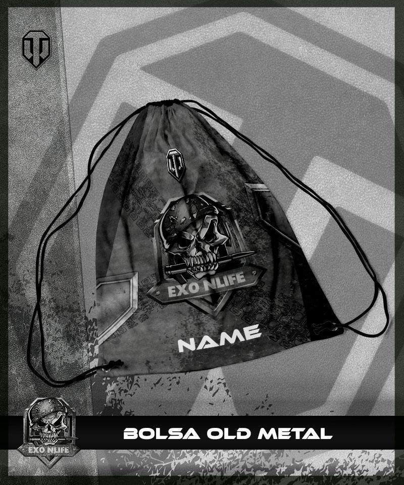 Bolsa Old Metal