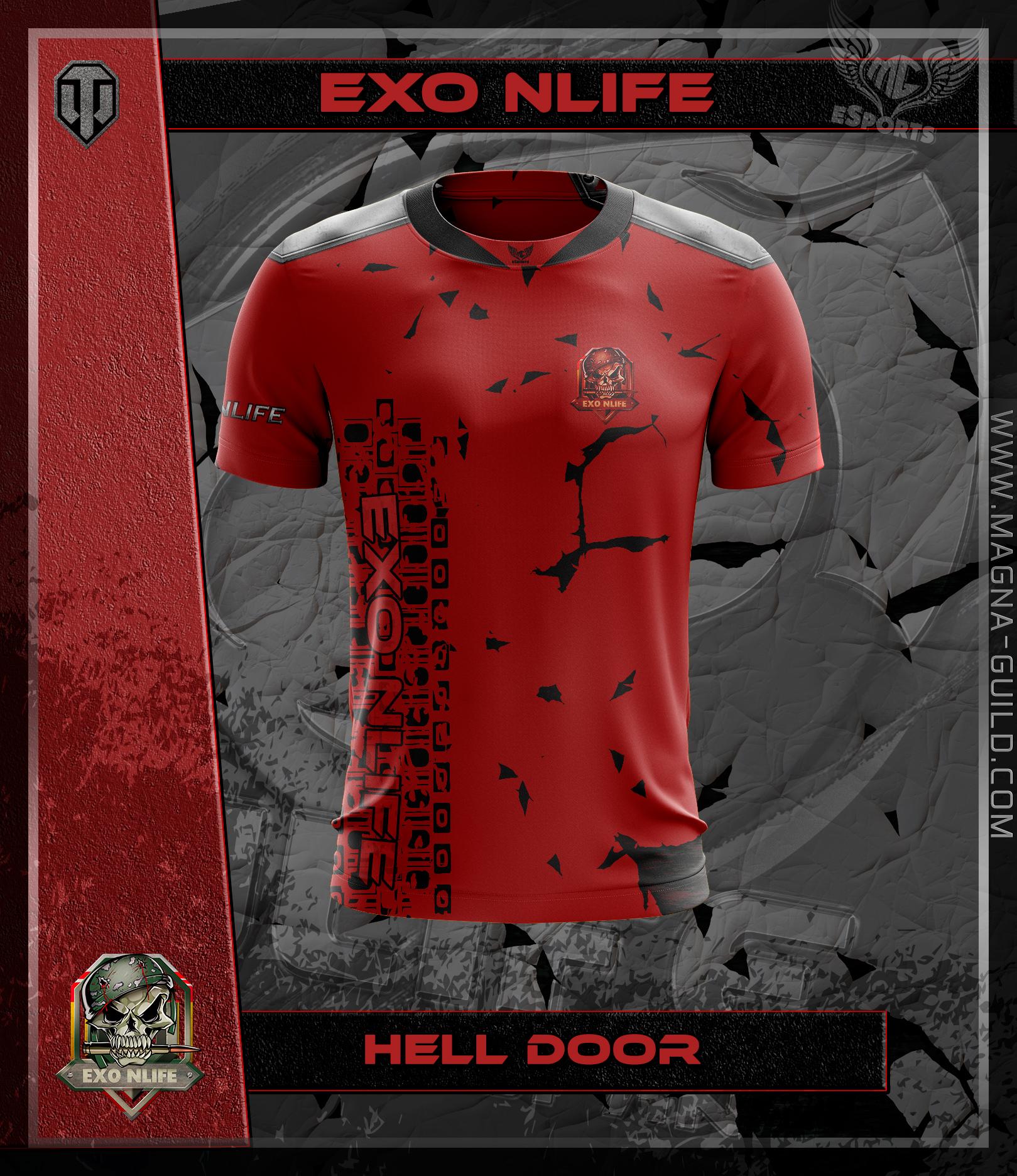 Hell Door Red