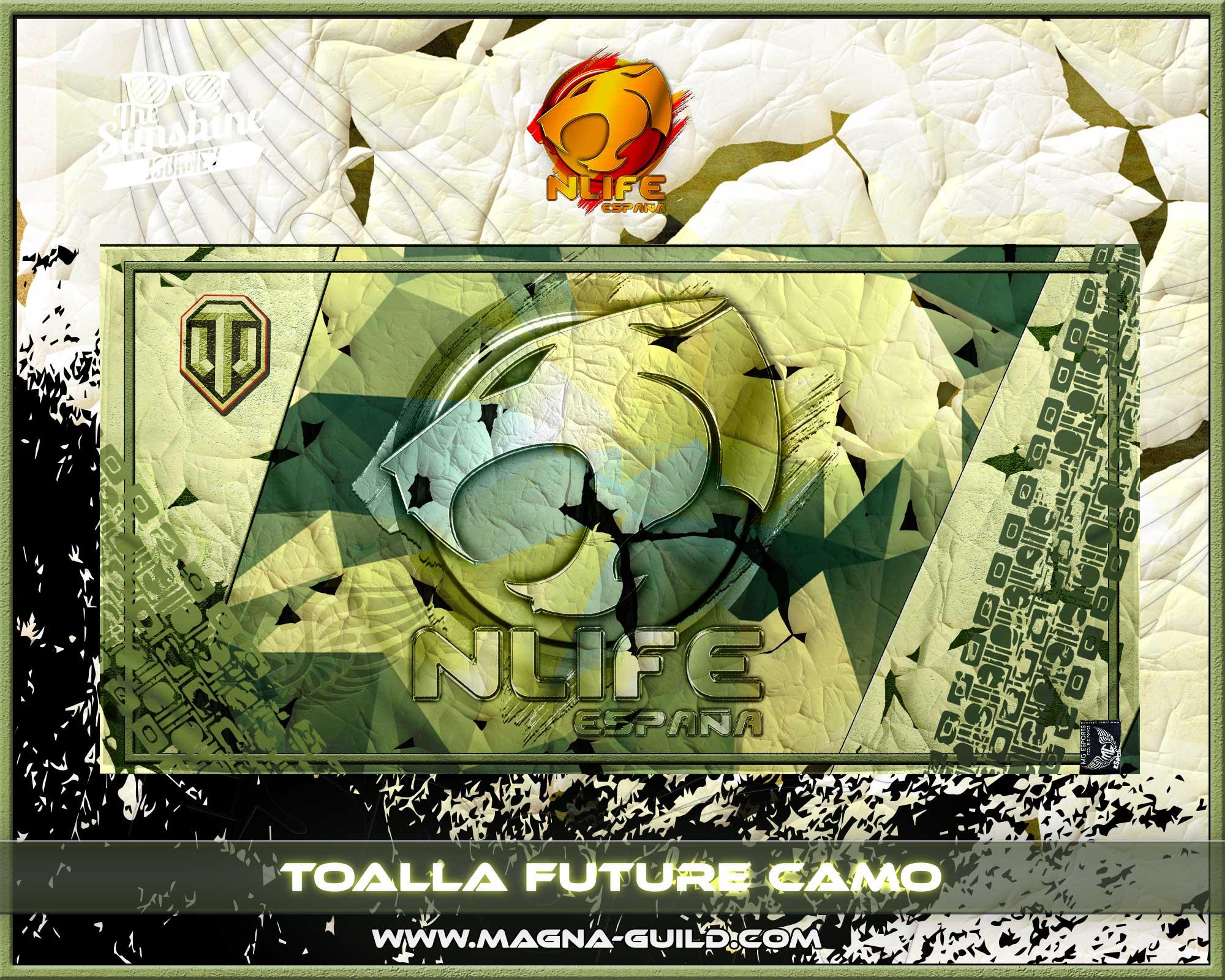 Toalla Future Camo