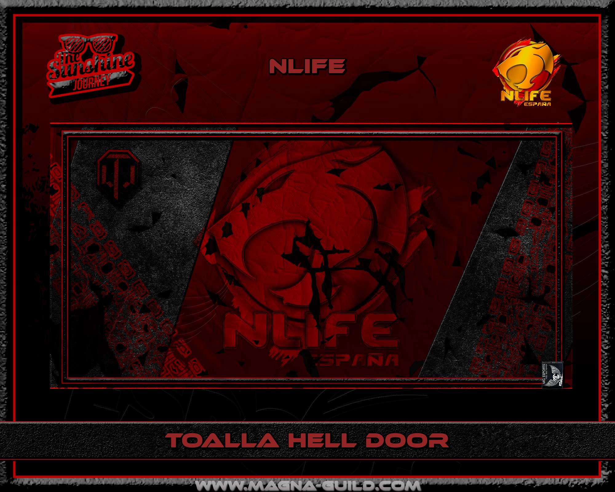 Toalla Hell Door